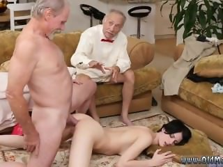 Old mexican granny anal Frannkie goes down