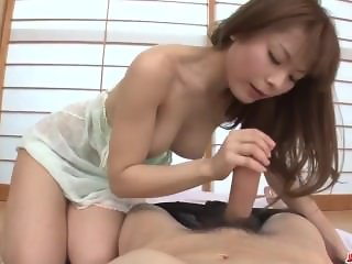 Anri Sonozaki slams cock down the throats in sloppy modes
