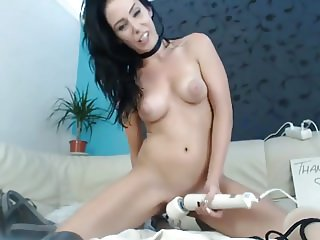 Webcam milf masturbating end with squirt