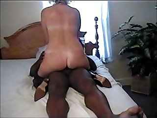 Mature Blonde wife Cheating on husband with BBC