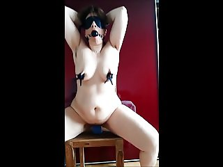 Hairy armpit show by German PAWG