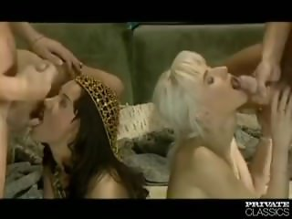 Angelica and Sandra, Anal Orgy