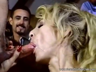 Blonde MILF Gets Used Like A Whore