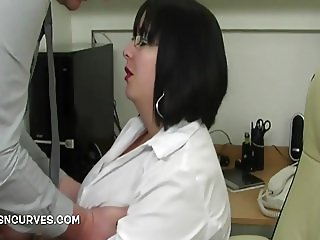 Does your secretary take care of your cock