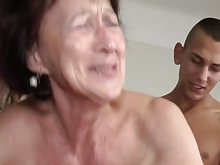 Granny, saggy and passionate