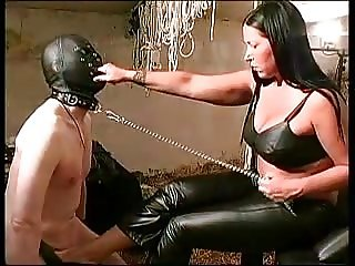 The pain of a slave makes the mistress happy