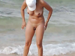 nude beach wife