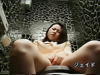 Hidden Cam Spy Toilet Masturbate - Japanese Censored