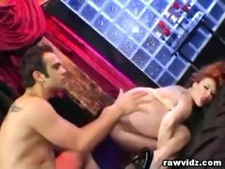 Tied Sex Slave Gets Rough Double Penetration
