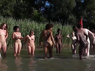 nude battle between friends