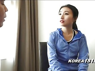 KOREA1818.COM - Korean MILF Jogger Seduced!