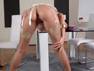Euro Executive - Bombshell Kitana Lure gets her Ass Fucked Deep