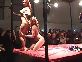 Public Strip Show In Berlin