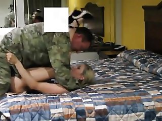 US Military Guy Homemade Sextape