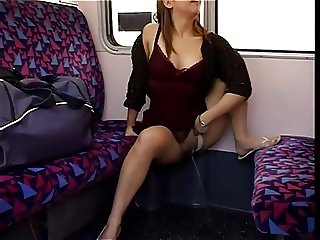 Pissing on Train