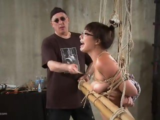 Nyssa Nevers Extreme BDSM Punishment - The Bamboo Prison