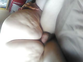 Riding on the big cock
