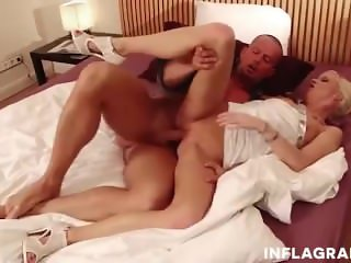 Petite German Blonde Loves The Cock