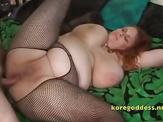 A redhead bitch built for anal sex