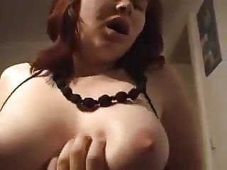 Busty wife of my German business partner sucks my juicy dick