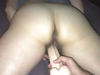 New dildo play with my wife