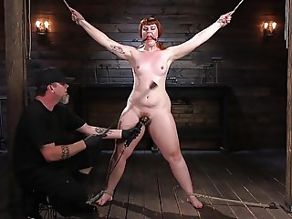 Pain Slut in Extreme Bondage
