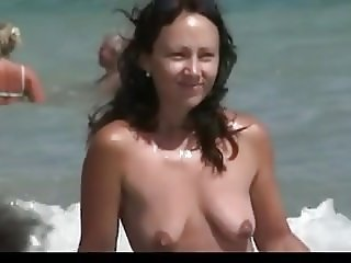 Nude Beach - Another Hotties day at the Beach