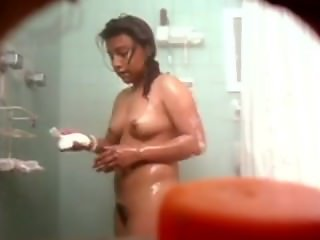 Brownie Hindu Teen Bathing