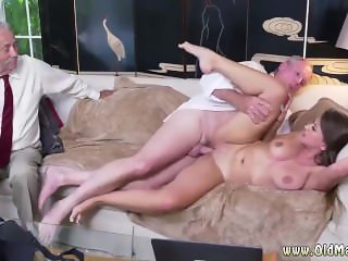 Old man fucks girl Ivy impresses with her