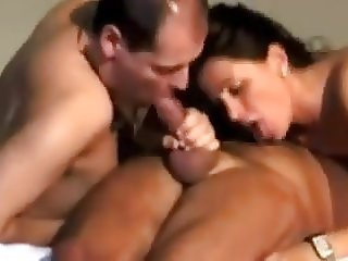 Spanish Bisexual Threesome part4