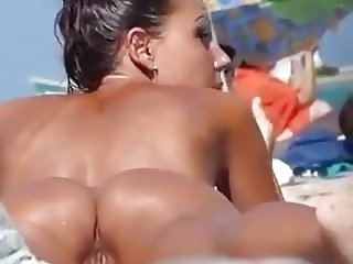 Hot Pussy at the Beach