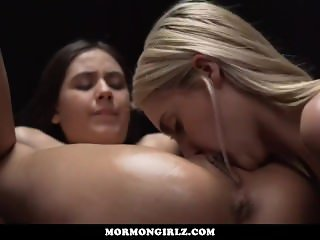 Mormongirlz - Four young babes oil massage