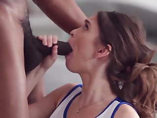 Cheerleader R R Fucks and Sucks a BBC