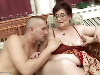 Old and young group sex ends group pissing