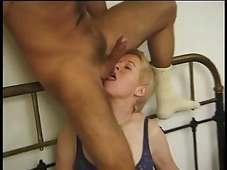 German Mature Loves Bouncing On His Cock