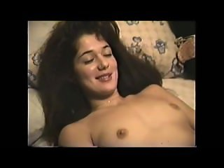 Hairy 80s Girl Next Door spreading