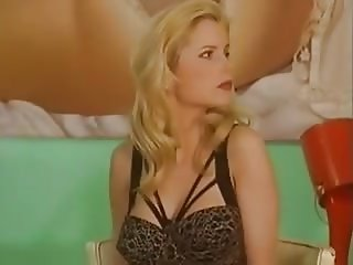 Gorgeous Blonde Shaves Before Sex