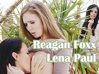 Mother Daughter exchange club with Reagan Foxx and Lena Paul