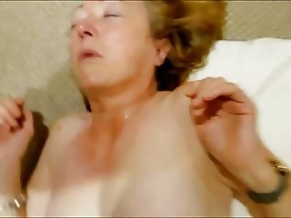Dirty mature whore throat fucked,piss in mouth and facial