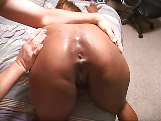 Mature Ebony Mom Gets Butt Fucked