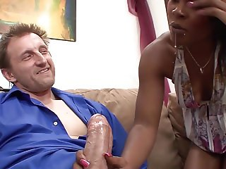 StepDad fucks his StepDaughter while Mom gone