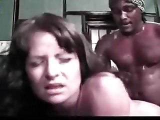 Interracial office fuck