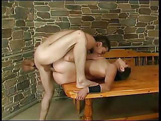 Mom Enjoys Anal Sex On Dining Table