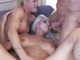 Mature Granny and Guy
