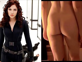 SekushiLover - Black Widow vs Nude Scarlett