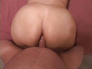 Mexican BBW MILF Gets Butt Fucked
