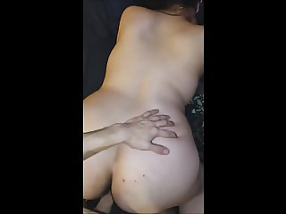 Doggy-Style Quickie With Wife