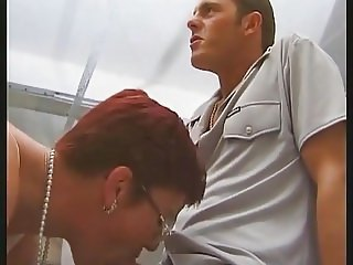 French mature on a threesome