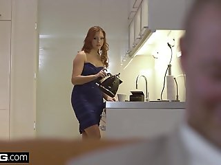 Glamkore - Morgan Rodriguez Sexy Striptease for her husband