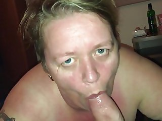 Riding and sucking big cock